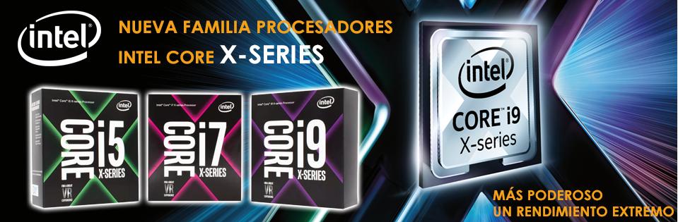 Gama de procesadores Intel Core X-Series
